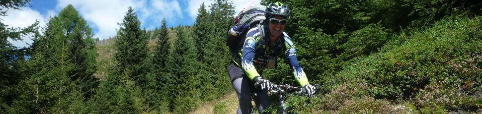 Mountainbike-, Nordic Walking und Schneeschuhtouren